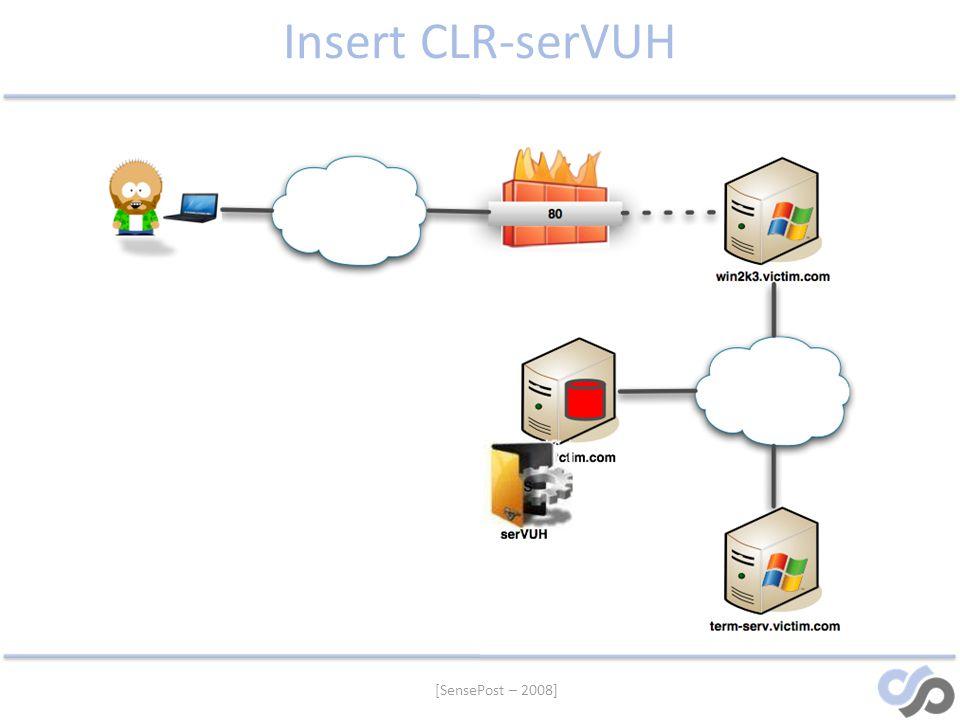 Insert CLR-serVUH