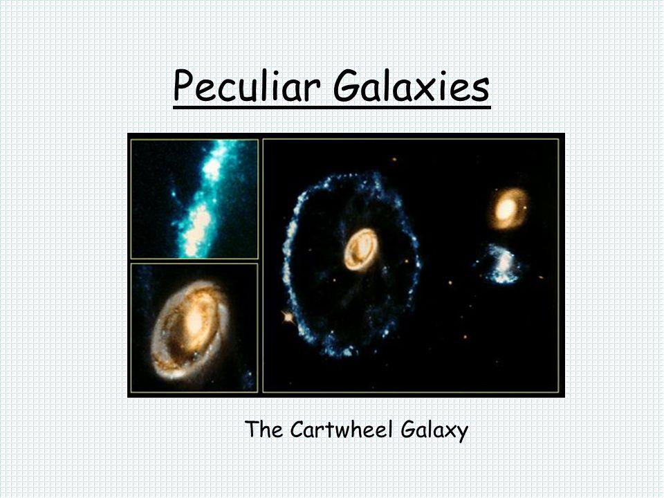 Peculiar Galaxies The Cartwheel Galaxy