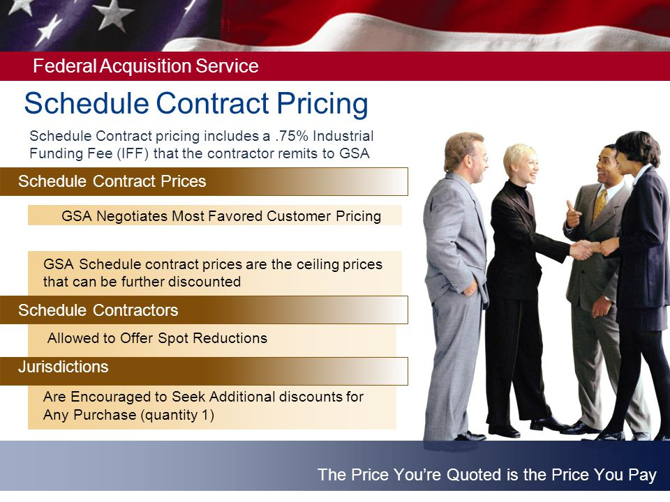Schedule Contract Pricing