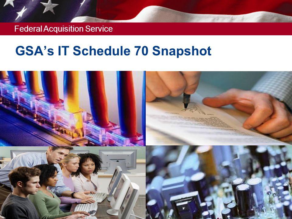 GSA's IT Schedule 70 Snapshot