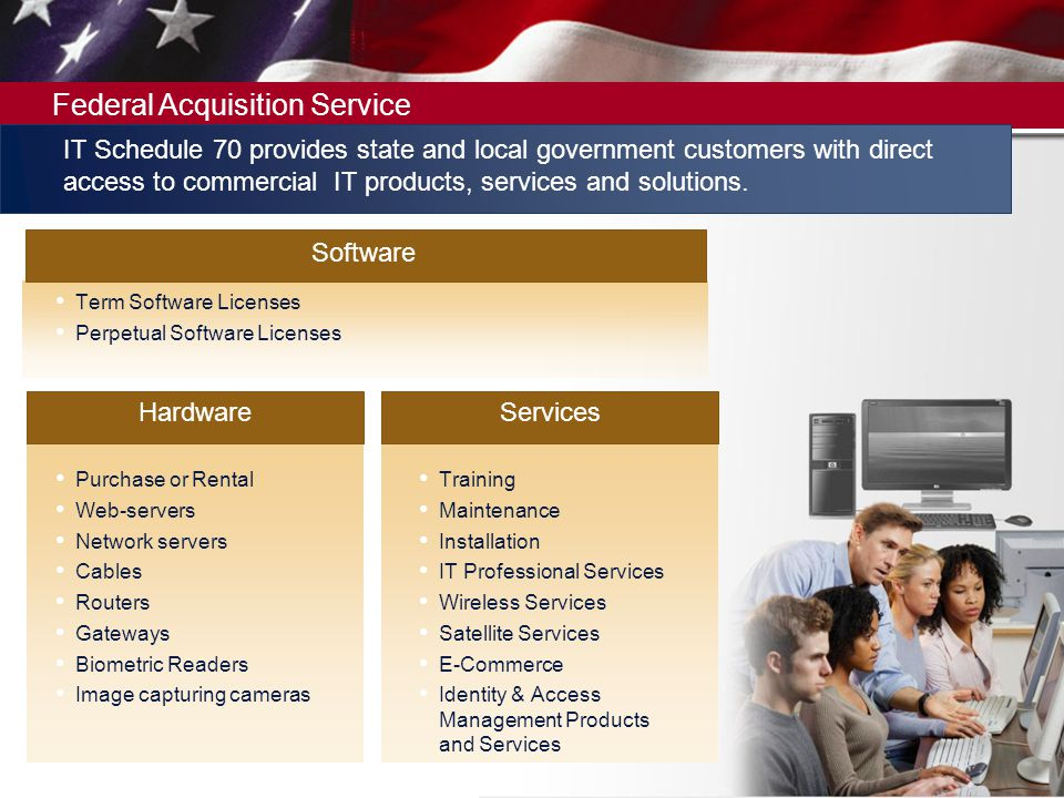 IT Schedule 70 provides state and local government customers with direct access to commercial IT products, services and solutions.