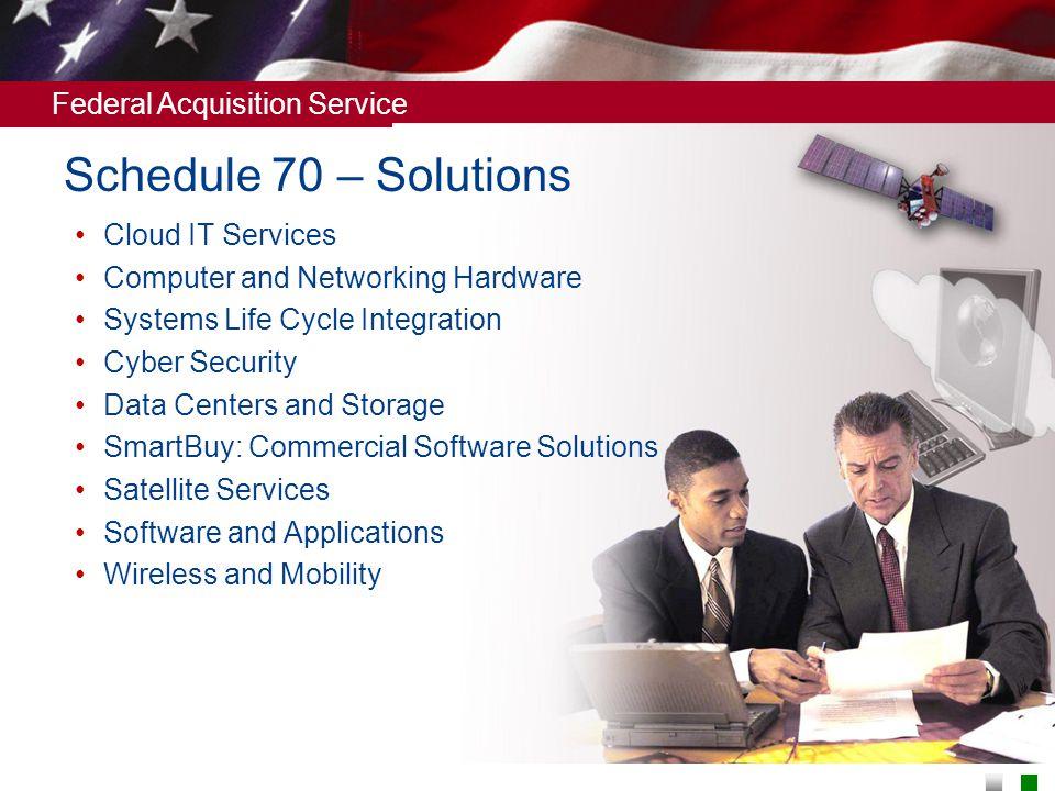 Schedule 70 – Solutions Cloud IT Services