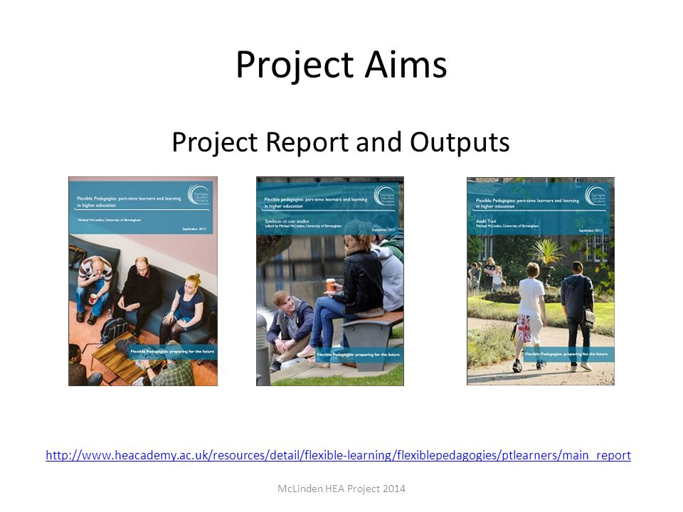 Project Report and Outputs