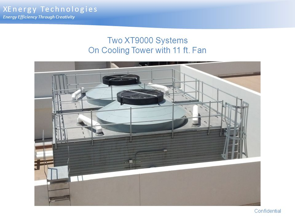 On Cooling Tower with 11 ft. Fan