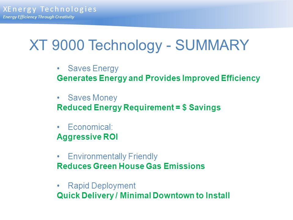 XT 9000 Technology - SUMMARY