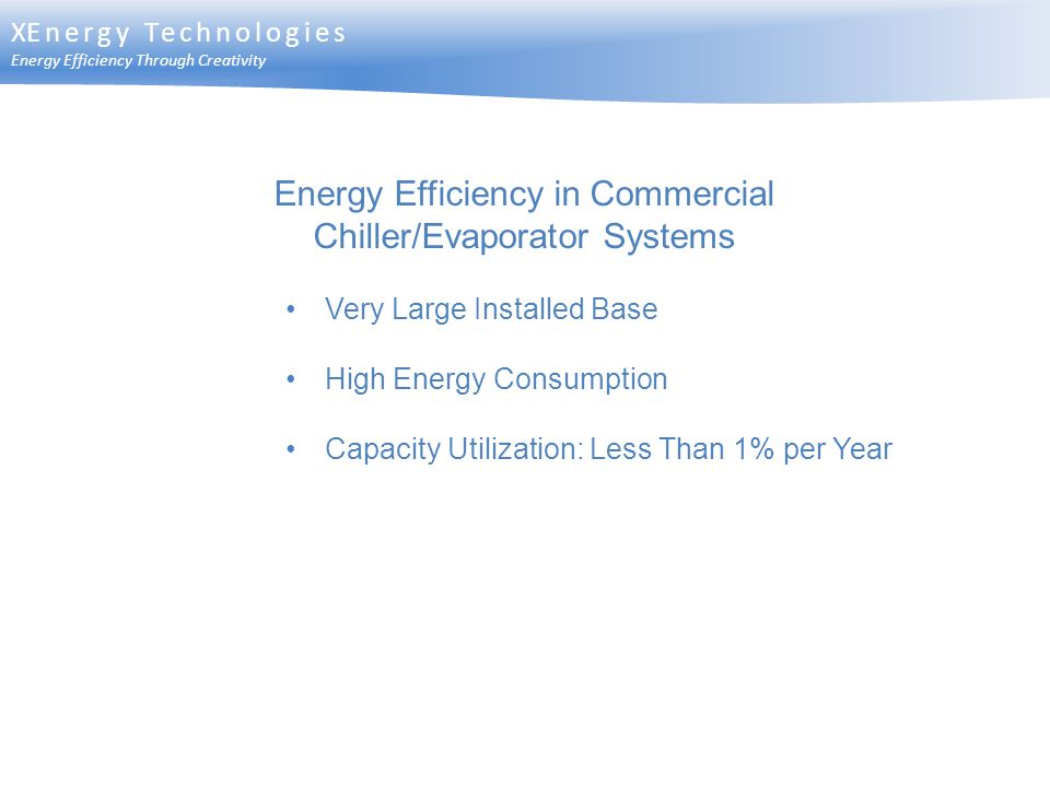 Energy Efficiency in Commercial Chiller/Evaporator Systems