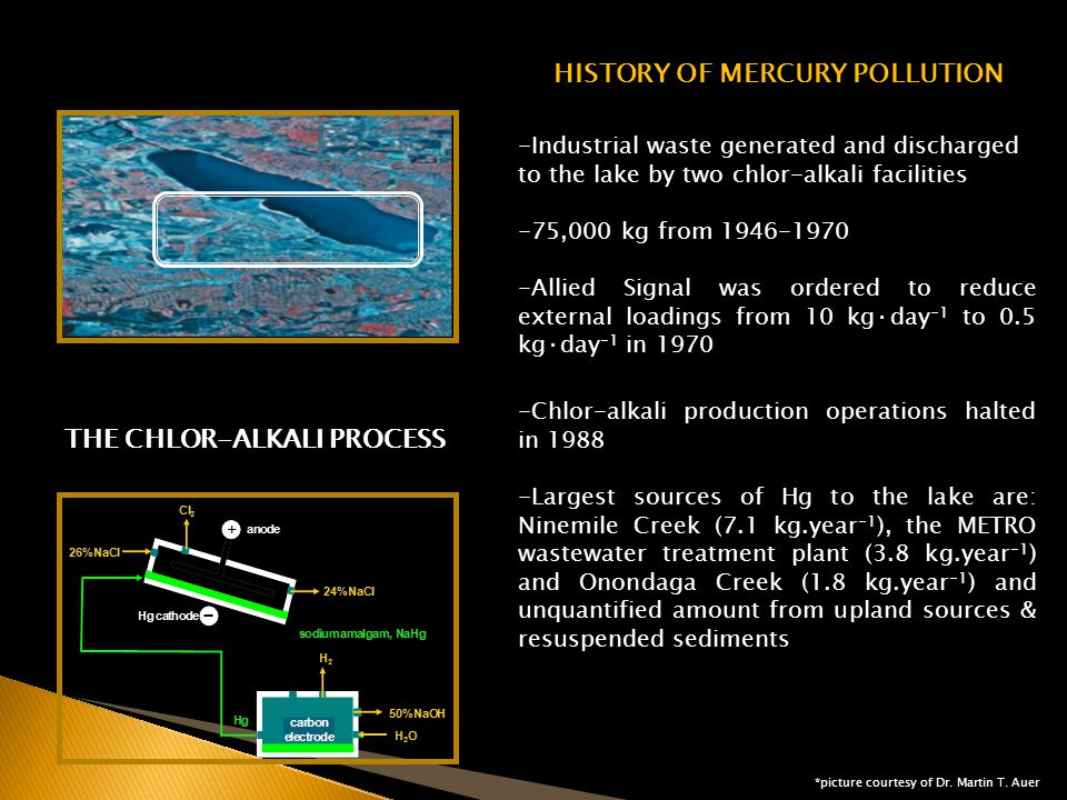 HISTORY OF MERCURY POLLUTION