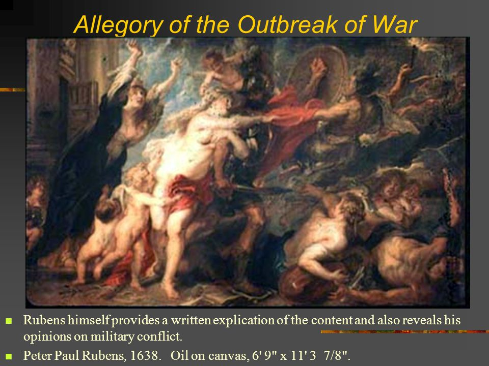 Allegory of the Outbreak of War