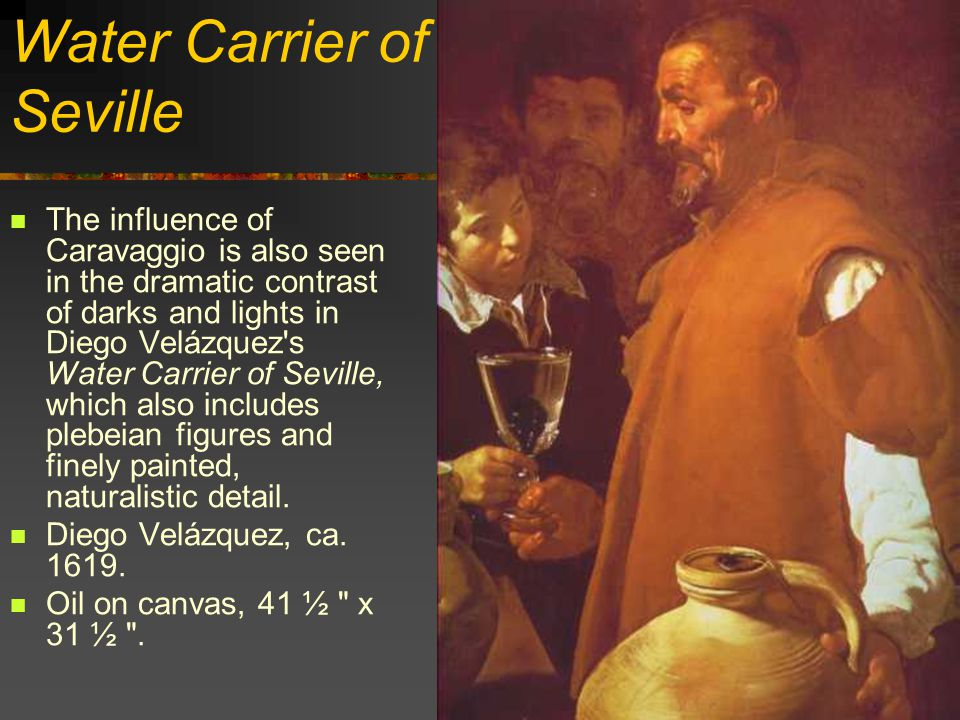 Water Carrier of Seville
