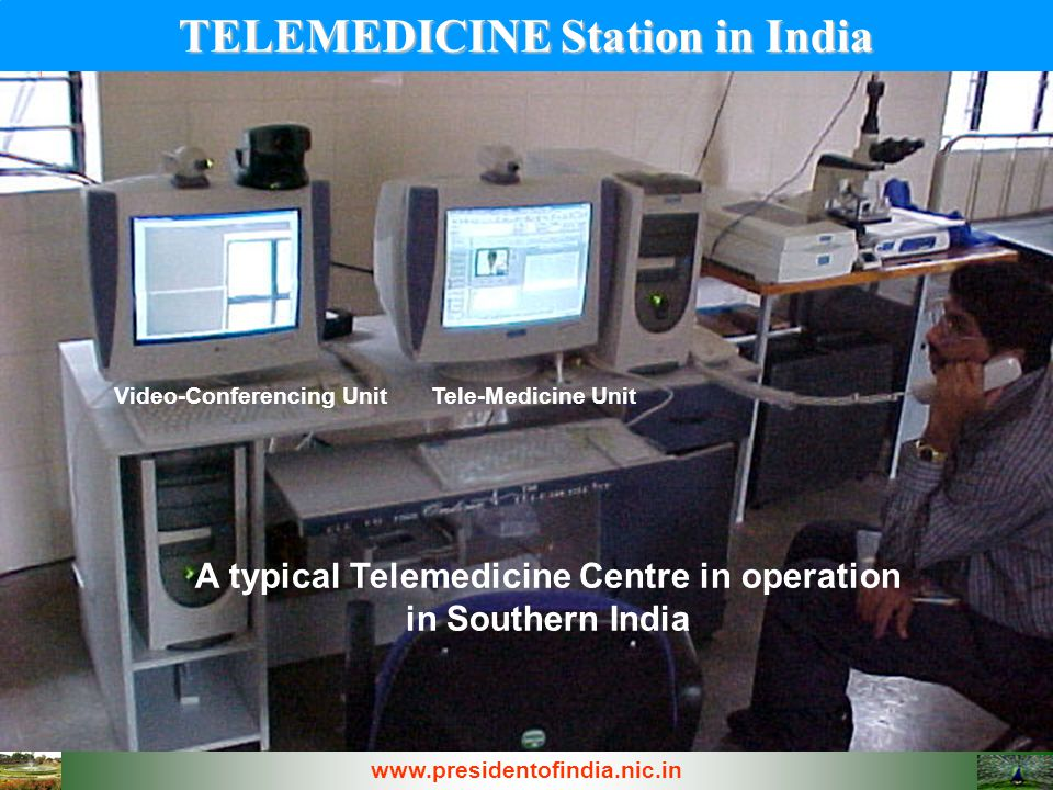 TELEMEDICINE Station in India