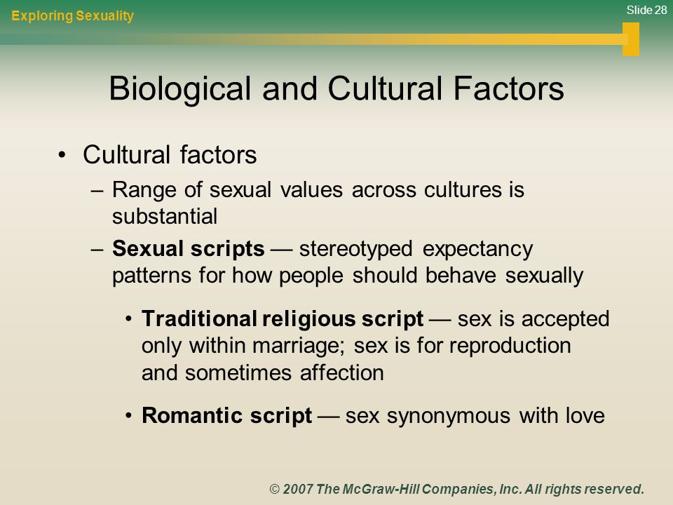 Biological and Cultural Factors