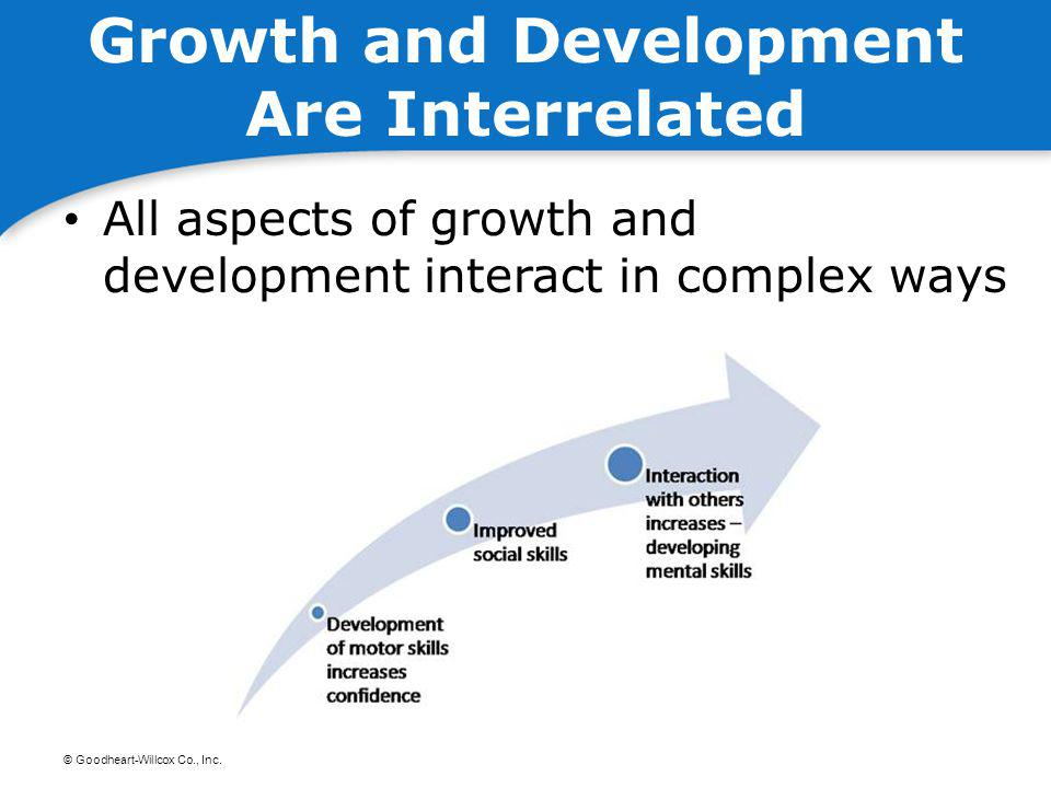 Growth and Development Are Interrelated