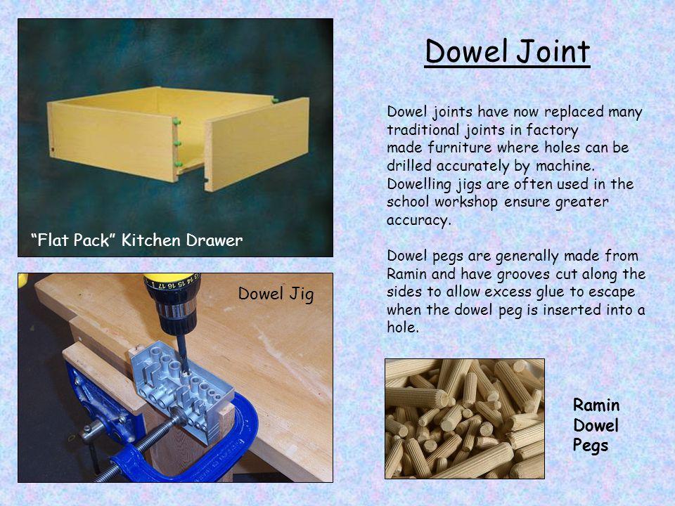 Dowel Joint Flat Pack Kitchen Drawer Dowel Jig Ramin Dowel Pegs