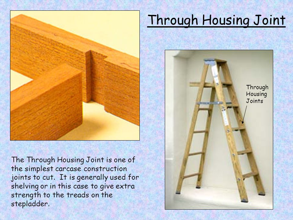Through Housing Joint Through Housing Joints.