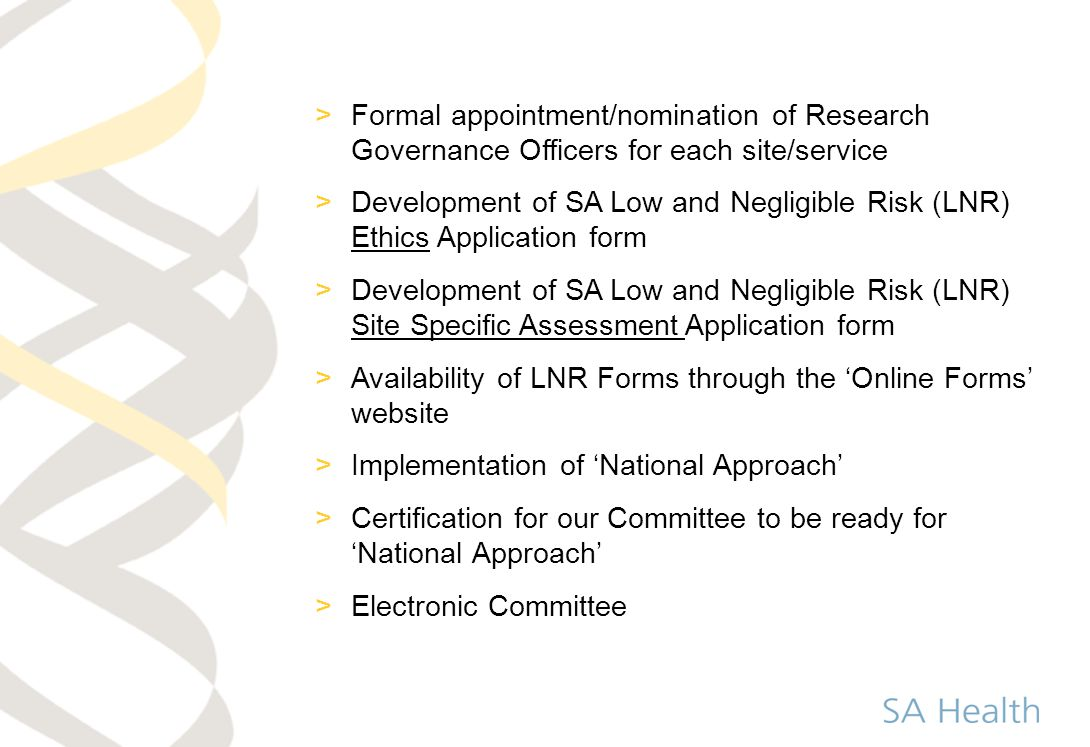 Availability of LNR Forms through the 'Online Forms' website