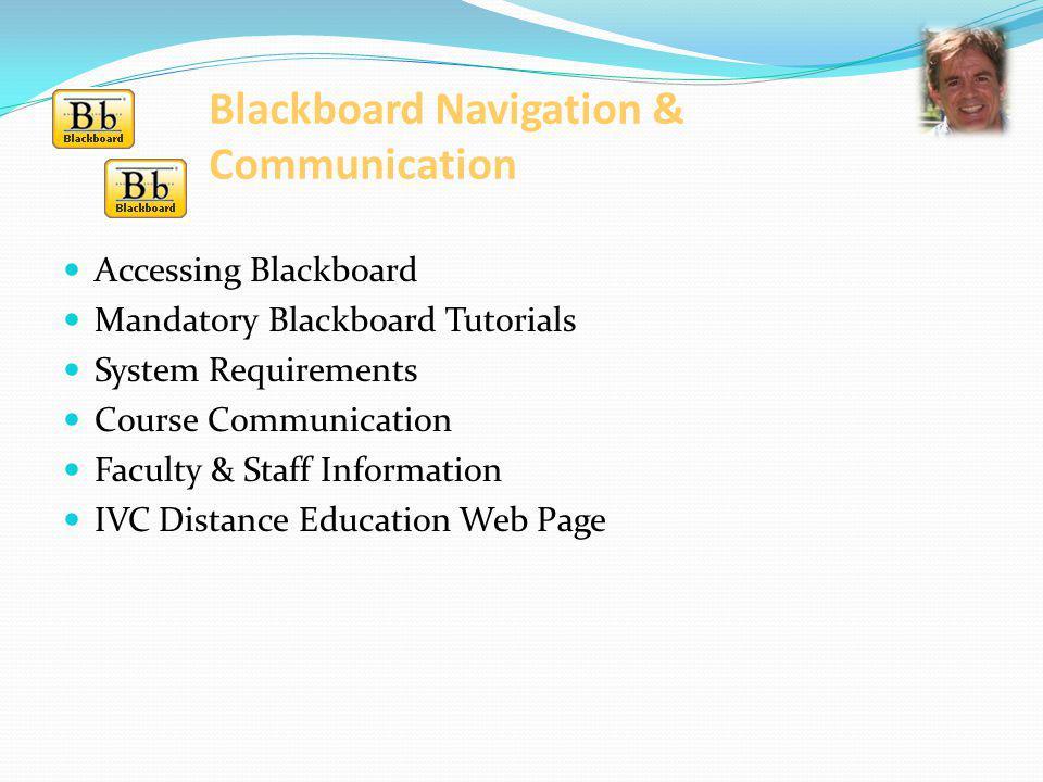 Blackboard Navigation & Communication