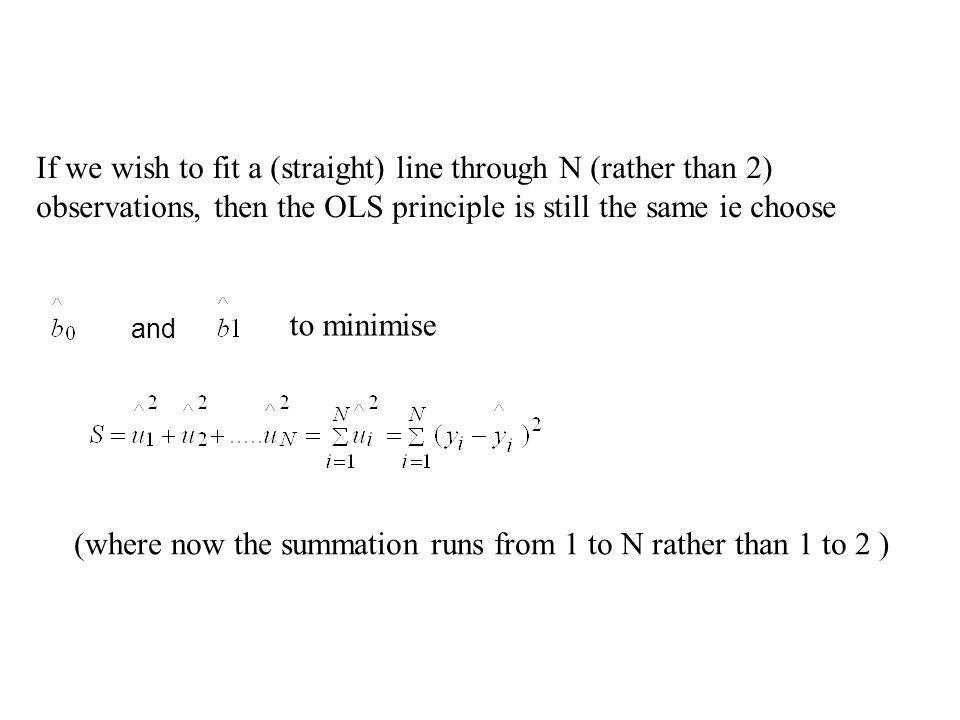 (where now the summation runs from 1 to N rather than 1 to 2 )