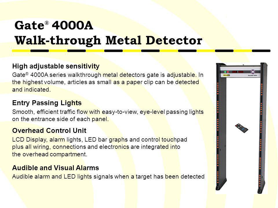 Walk-through Metal Detector