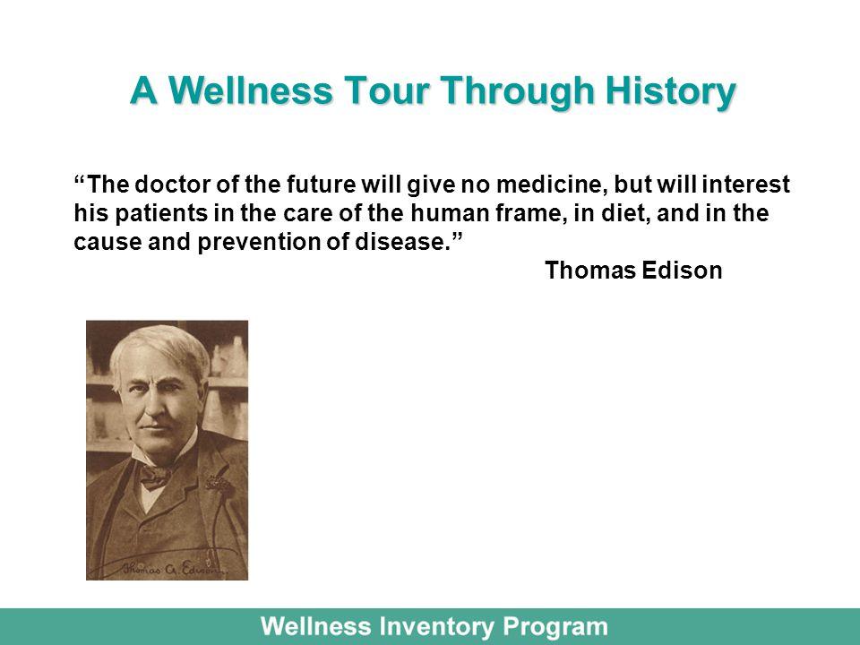 A Wellness Tour Through History