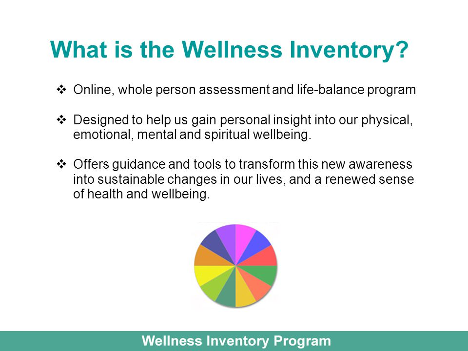What is the Wellness Inventory