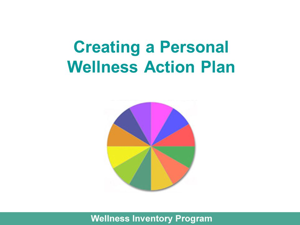 Creating a Personal Wellness Action Plan