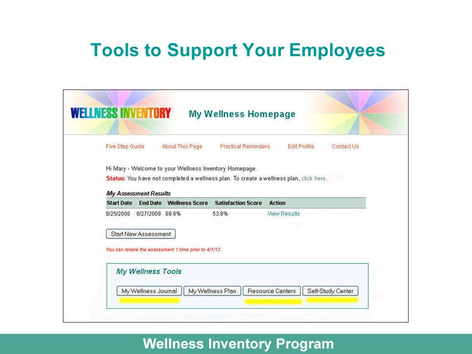 Tools to Support Your Employees