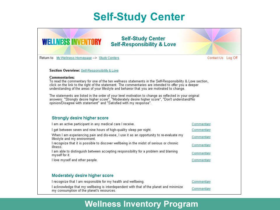 Self-Study Center