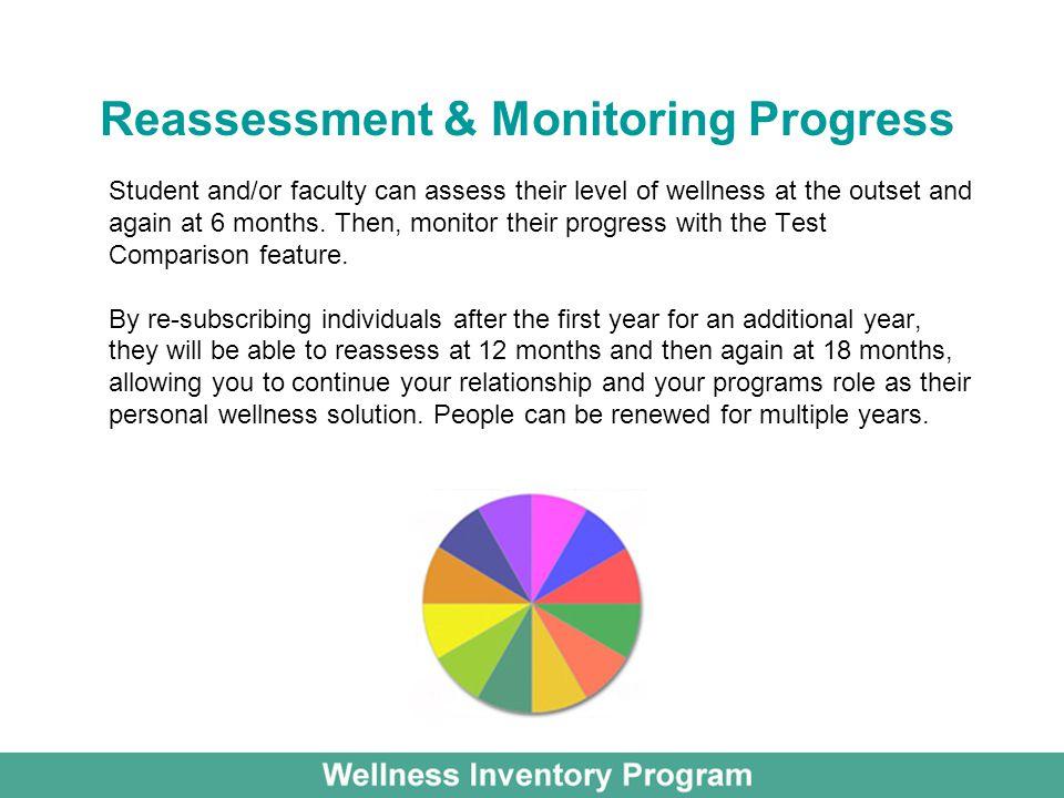 Reassessment & Monitoring Progress