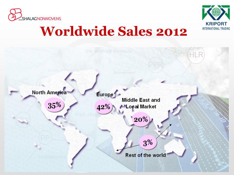 Worldwide Sales 2012