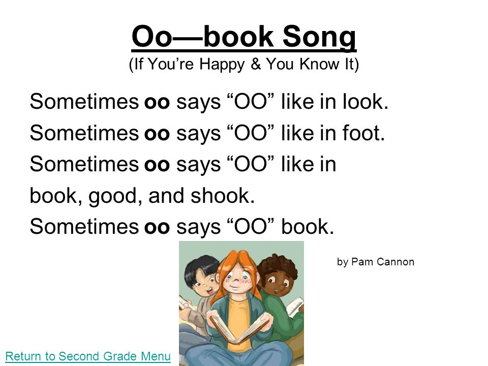 Oo—book Song (If You're Happy & You Know It)