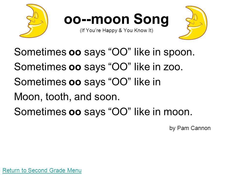 oo--moon Song (If You're Happy & You Know It)