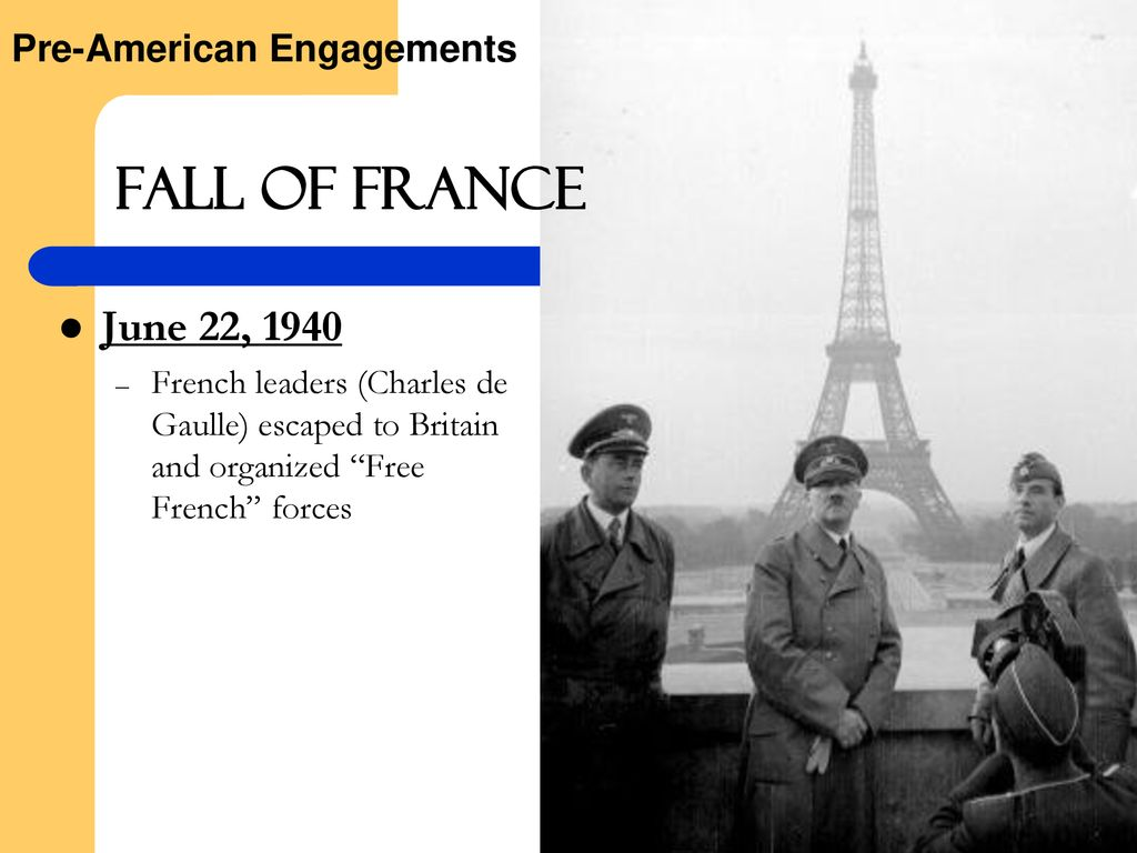 Fall of france june 22 1940