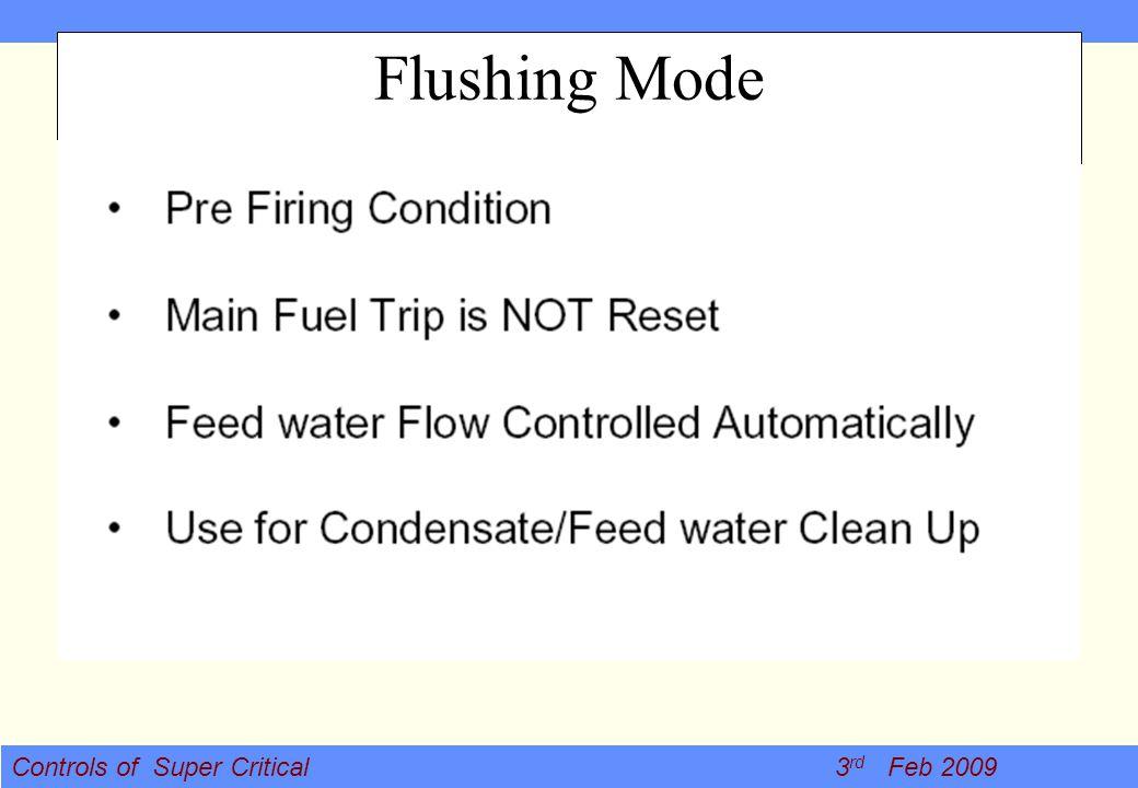 Flushing Mode