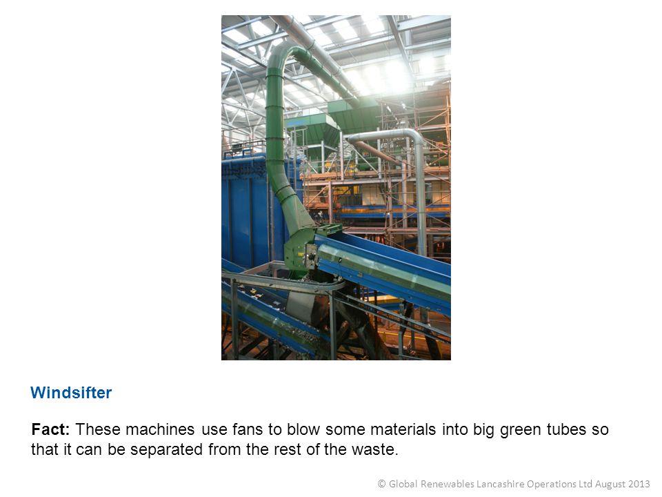 © Global Renewables Lancashire Operations Ltd August 2013