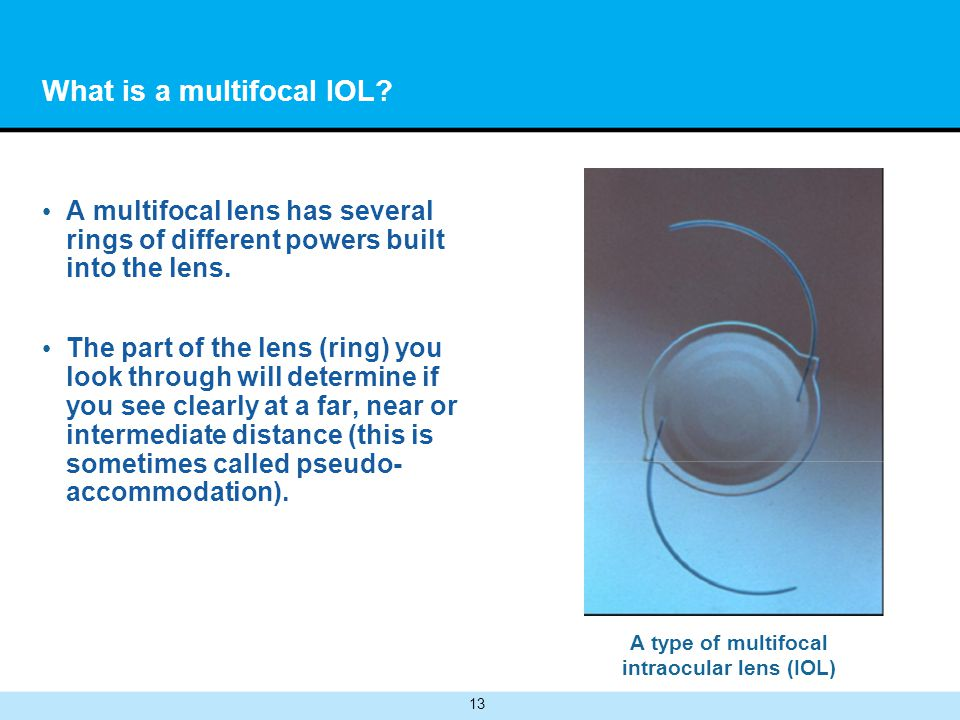 What is a multifocal IOL