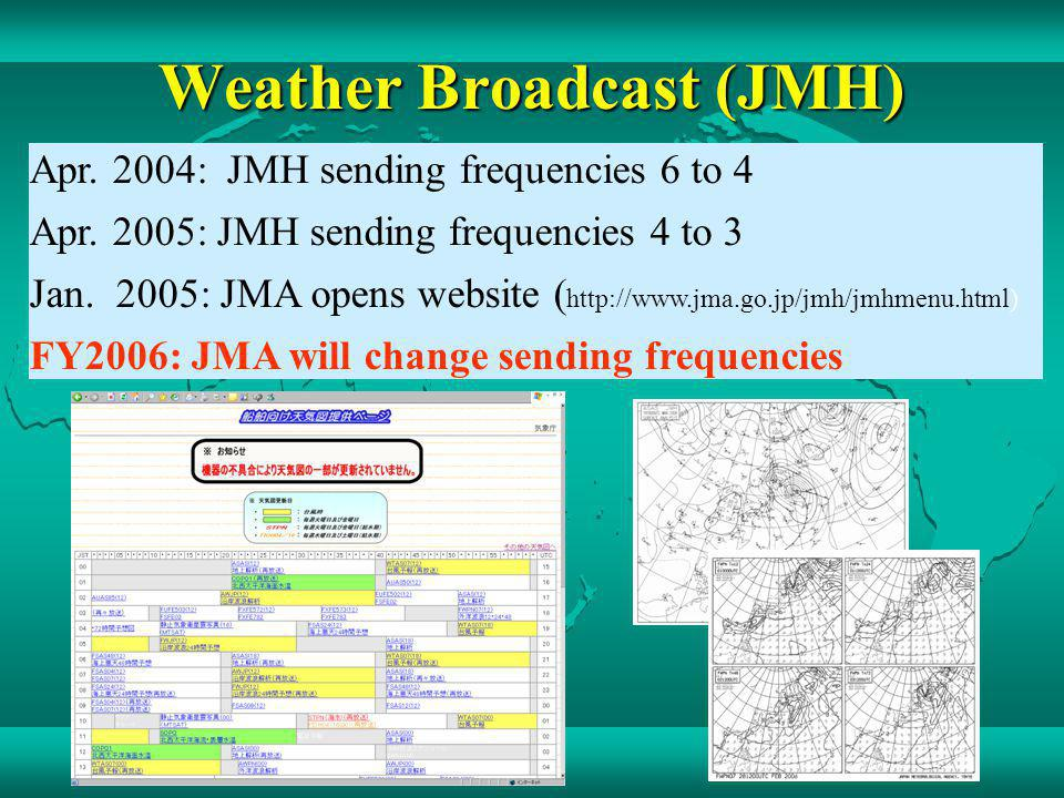 Weather Broadcast (JMH)