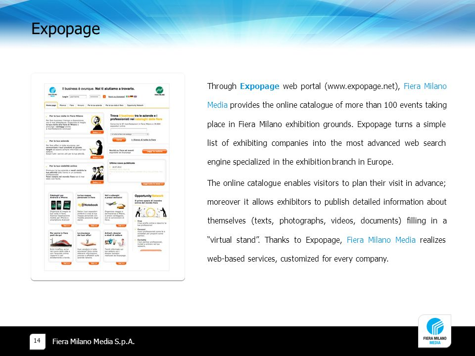 Expopage