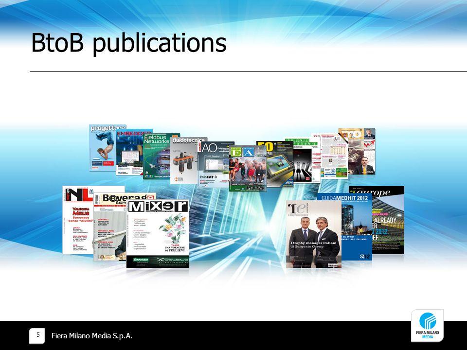 BtoB publications Fiera Milano Media S.p.A.