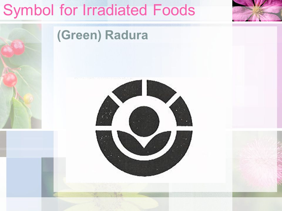 Symbol for Irradiated Foods