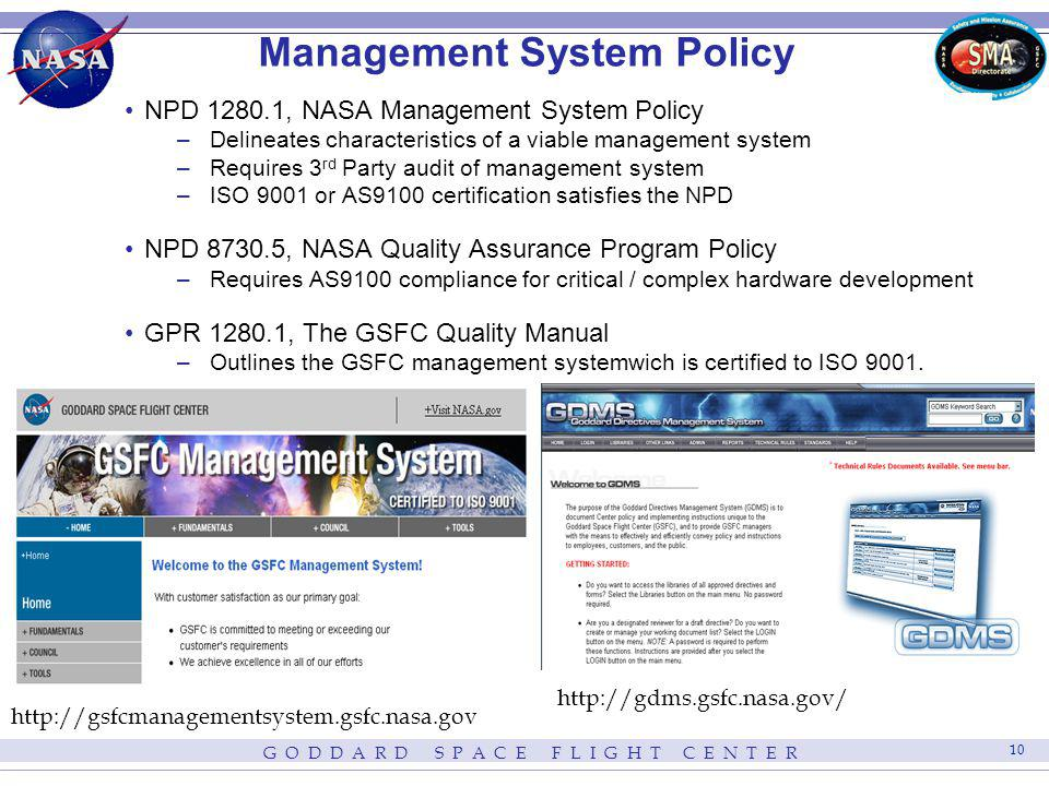 Management System Policy