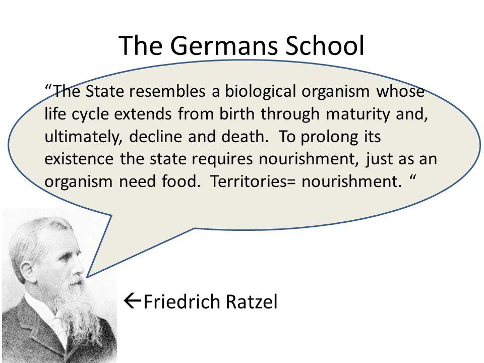 The Germans School Friedrich Ratzel
