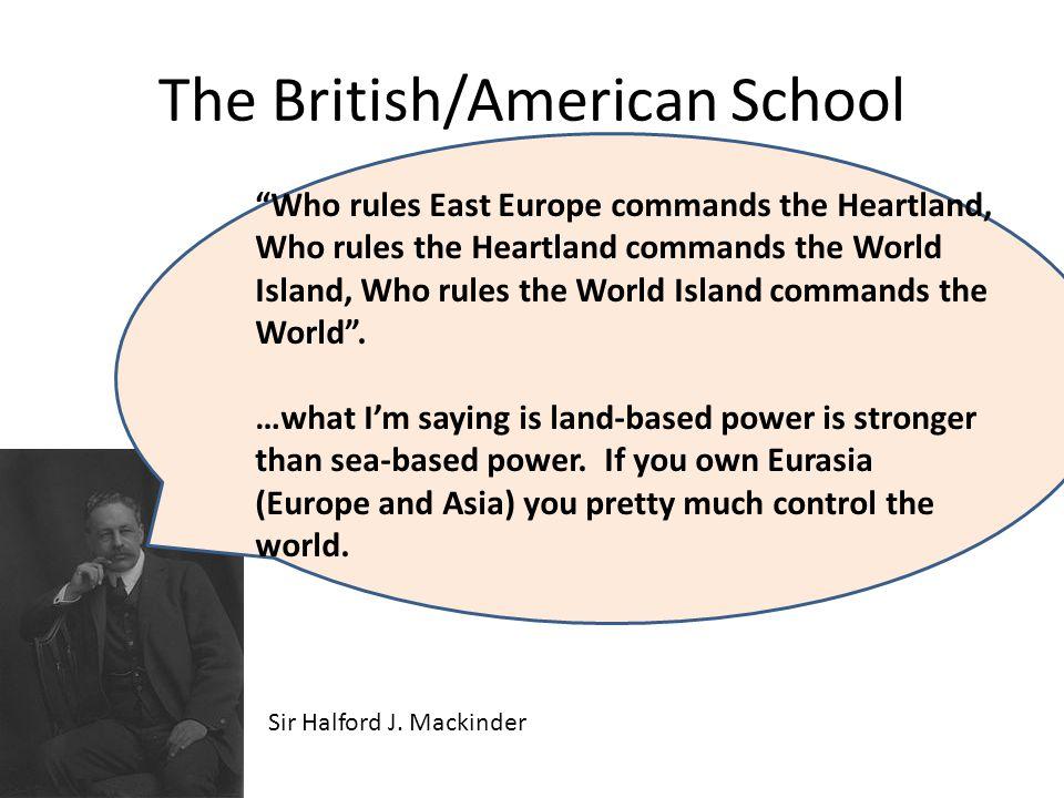 The British/American School