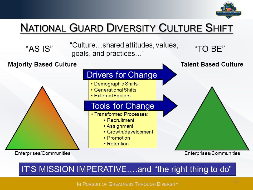 National Guard Diversity Culture Shift
