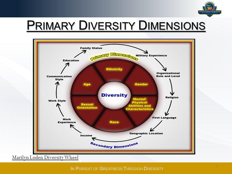 Primary Diversity Dimensions