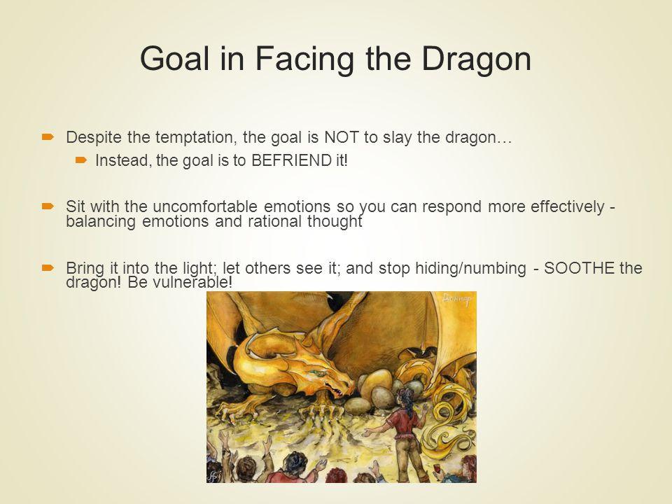 Goal in Facing the Dragon
