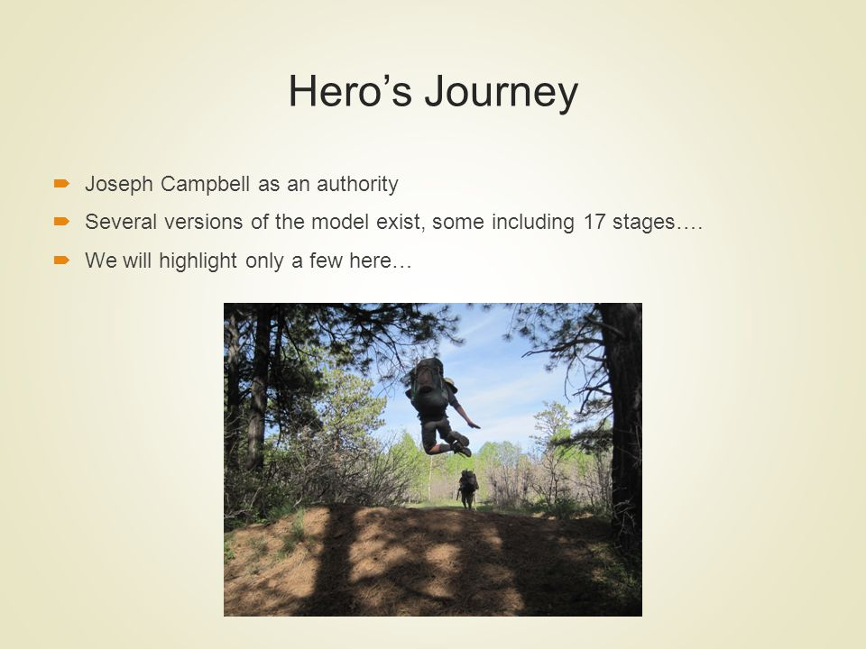 Hero's Journey Joseph Campbell as an authority