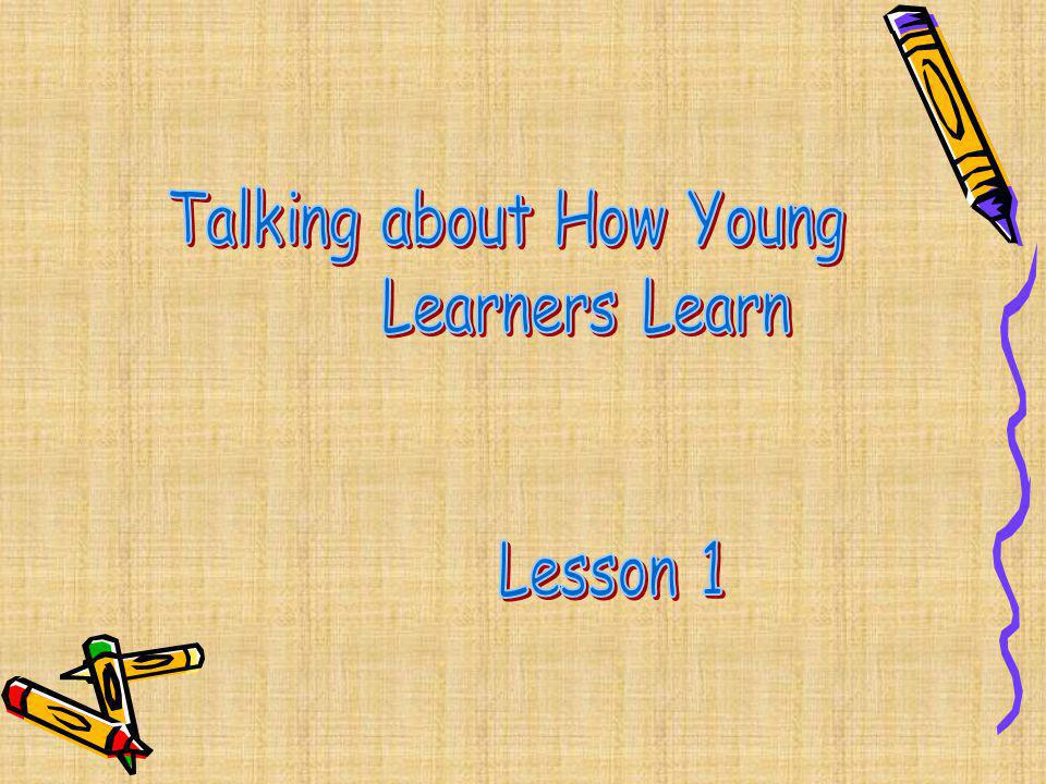 Talking about How Young