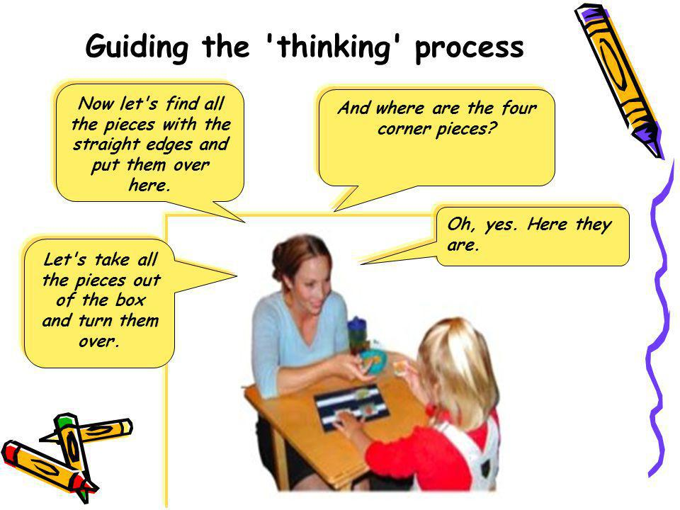 Guiding the thinking process