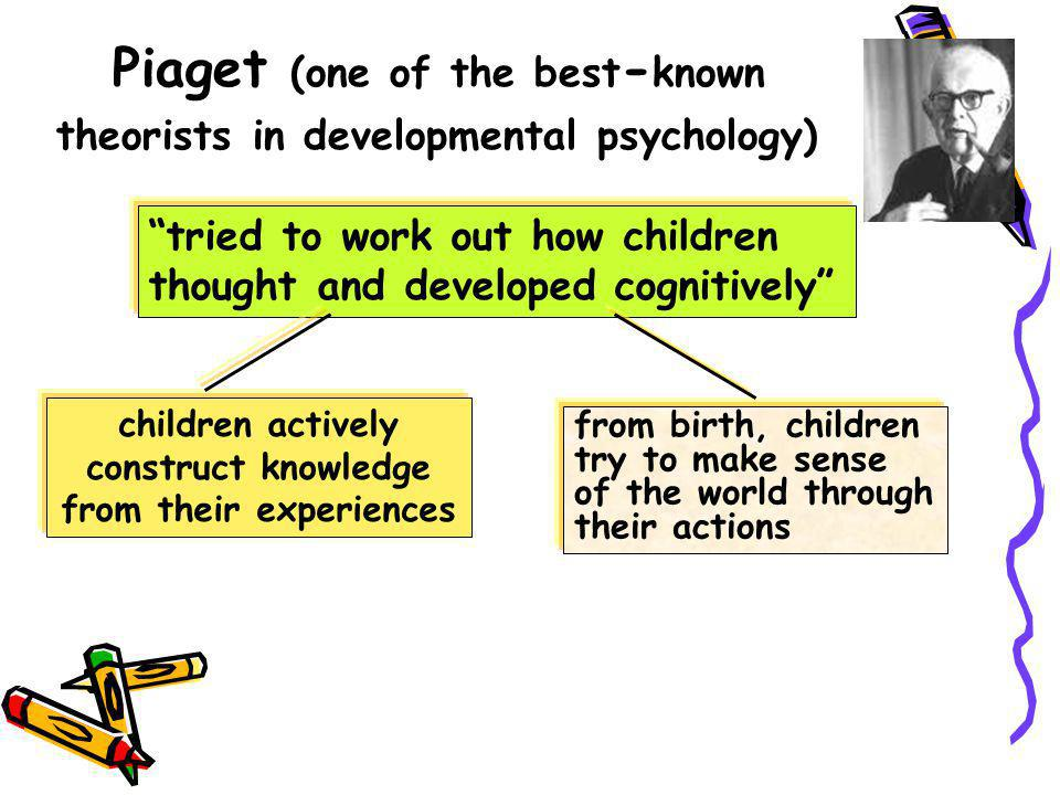 Piaget (one of the best-known