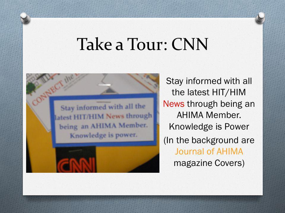 Take a Tour: CNN